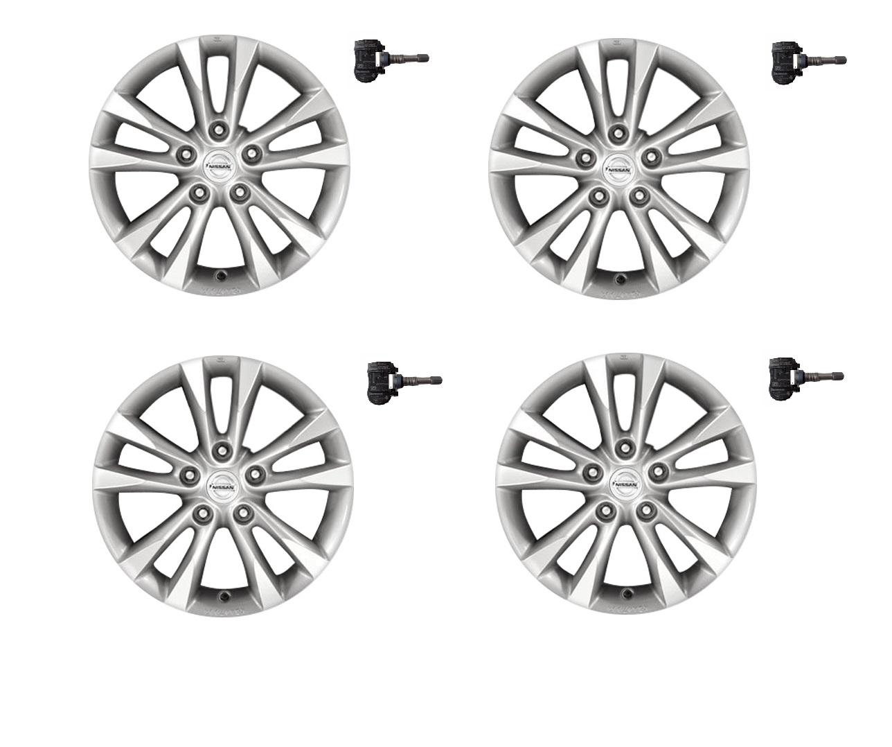 clasic farmecul costurilor Cel mai bun Set 4 Jante aliaj 16″ Nissan Qashqai, Nissan Juke Silver ET40 6.5 ...